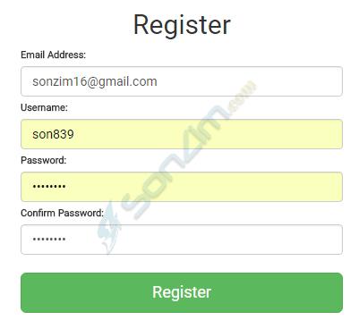Đăng ký tài khoản tại sànCoinExchange - Bước 3
