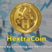 Đầu tư HextraCoin (HXT) – HextraCoin đã mở lending với lãi 48%/tháng