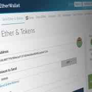 Cách kiểm tra Token đã nhận và gửi Token ICO trên MyEtherWallet