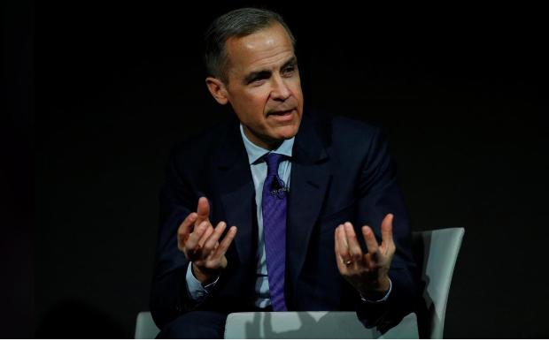 Mark Carney, Thống đốc Ngân hàng Trung ương Anh