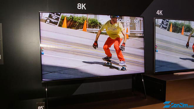 TV QLED 2018 màn hình 8k