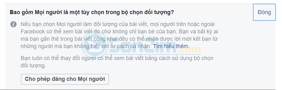 Cách bật nút theo dõi trên facebook cho người dưới 18 tuổi - Ảnh 3
