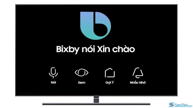 TV QLED 2018 trợ lý ảo bixby