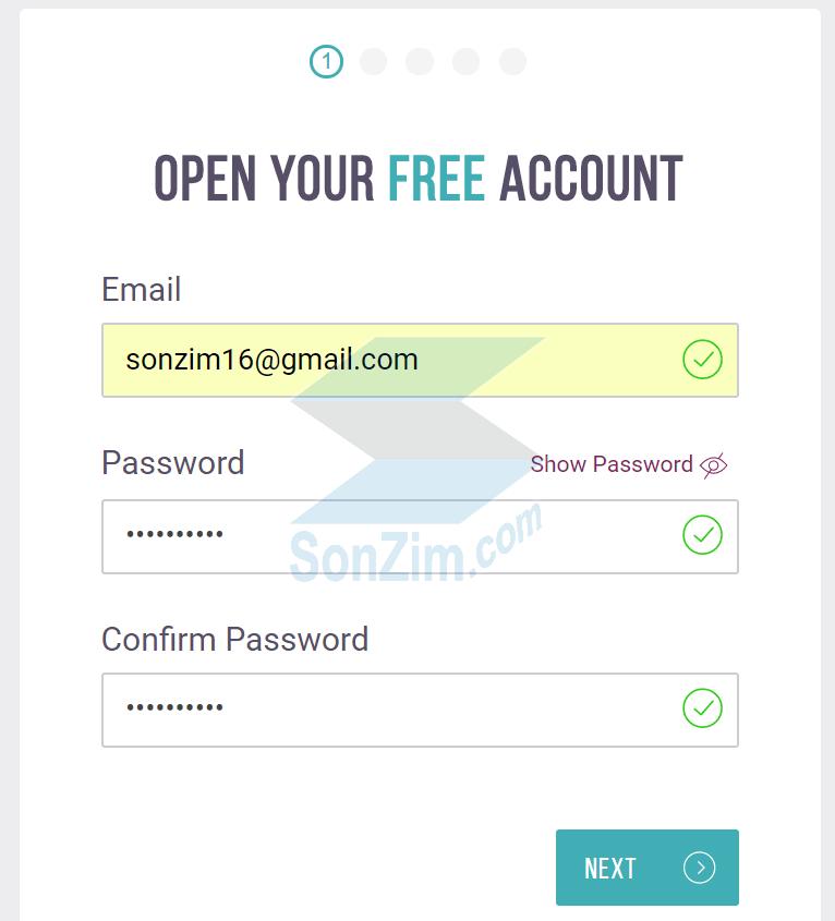 Cách đăng ký tài khoảnSkrill - Bước 1