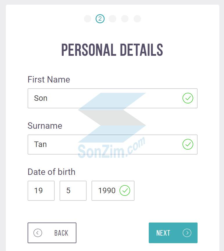 Cách đăng ký tài khoảnSkrill - Bước 2