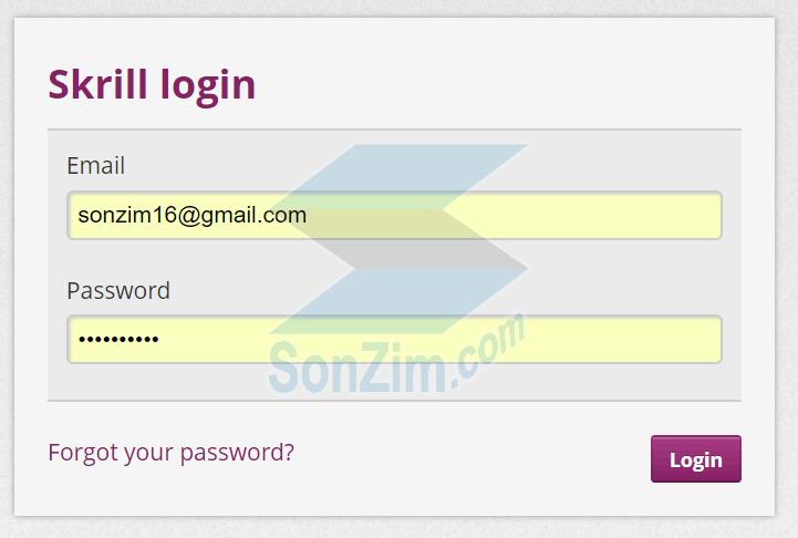 Cách đăng ký tài khoảnSkrill - Bước 7