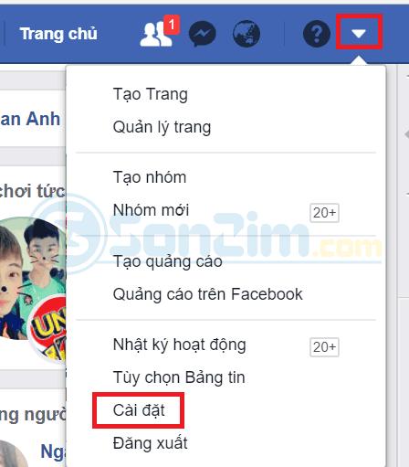 Cách chặn kết bạn trên facebook bằng trình duyệt máy tính - 1