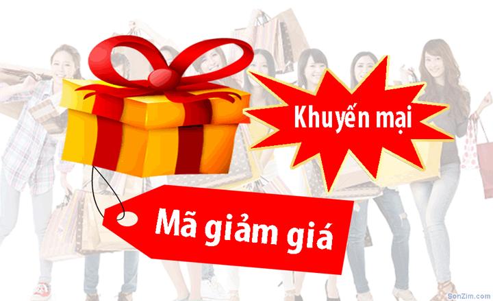 Mã giảm giá và Khuyến mại các trang thương mại điện tử Việt Nam