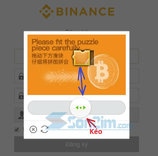 Cách đăng ký tài khoản Binance - Bước 3