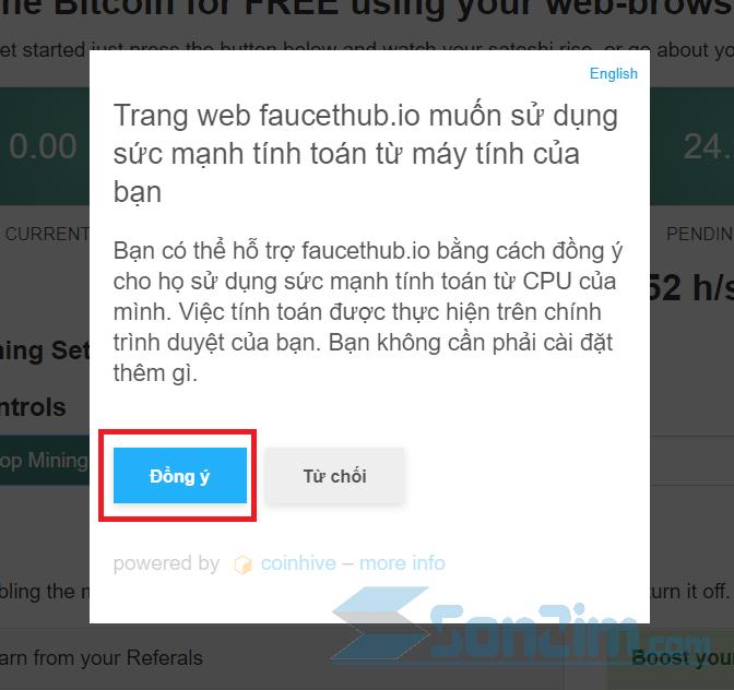 Cách đào bitcoin miễn phí trênFaucetHub - Ảnh 3
