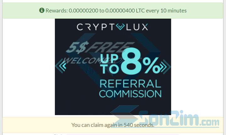Các bước kiếm Litecoin miễn phí với GetFree Coin - Bước 2.3c
