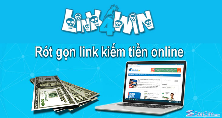 Cách rút gọn link kiếm tiền trên Link4win