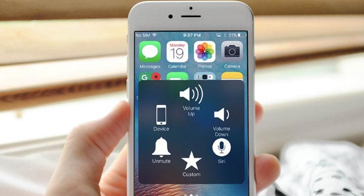 Cách tùy chỉnh các tính năng cho nút Home ảo trên iPhone