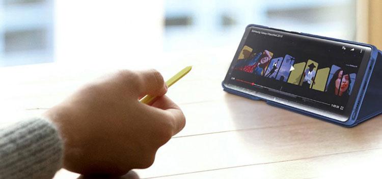 Đánh giá Samsung Galaxy Note 9 - Điều khiển từ xa bằng bút S-Pen