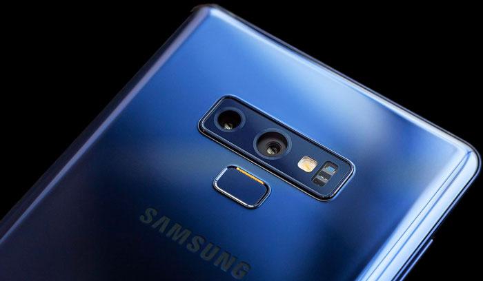 Đánh giá Samsung Galaxy Note 9 - Thay đổi vị trí cảm biến vân tay