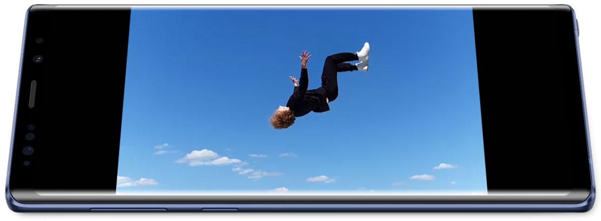 Đánh giá Samsung Galaxy Note 9 - Chế độ quay siêu chậm