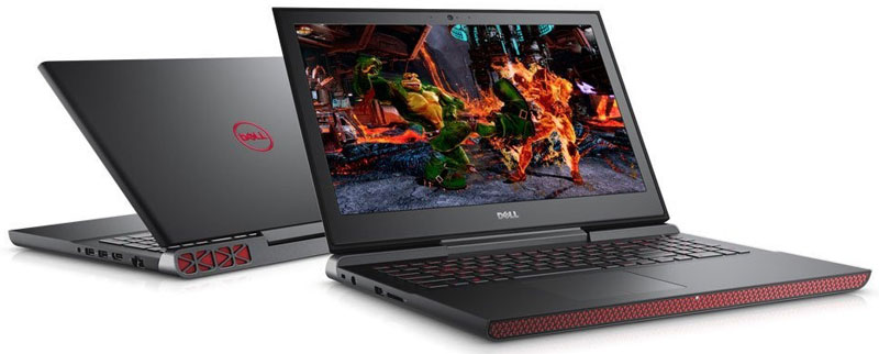 Top 5 laptop Gaming tốt nhất - Dell Inspiron 7567 N7567E