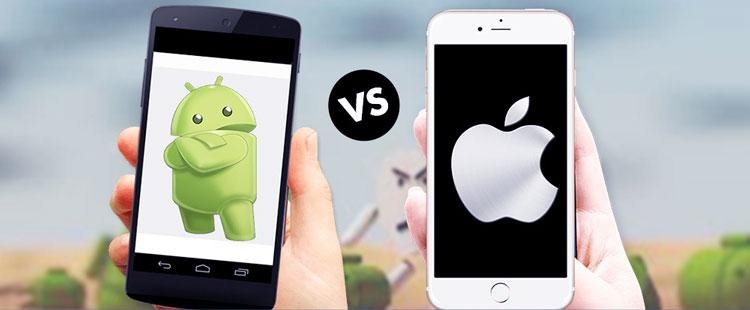So sánh Android và iOS, nên chọn hệ điều hành Android hay iOS?