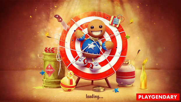 Top 20 game offline hay dành cho Smartphone - Kick the Buddy