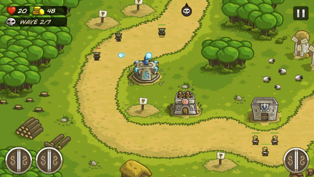 Top 20 game offline hay dành cho Smartphone - Kingdom Rush