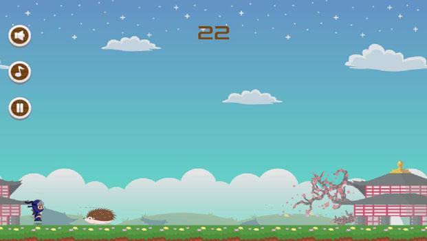 Top 20 game offline hay dành cho Smartphone - Ninja Run Deluxe