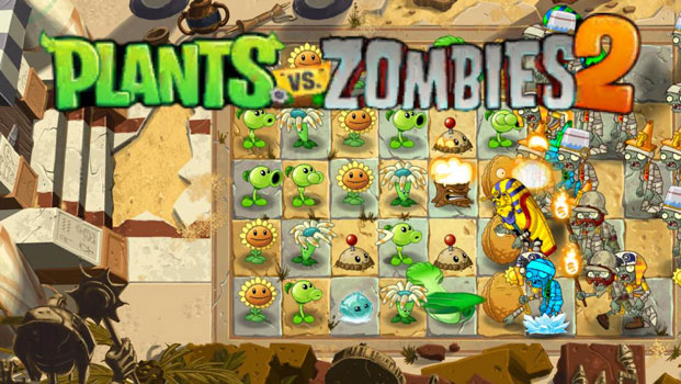 Top 20 game offline hay dành cho Smartphone - Plant vs Zombie 2
