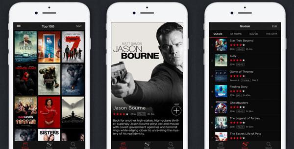 Những ứng dụng hay cho smartphone - Netflix