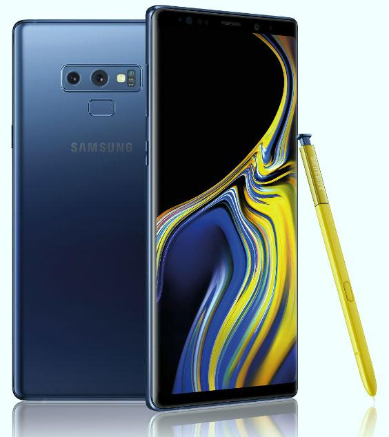 Đánh giá Samsung Galaxy Note 9 - Thay đổi về thiết kế