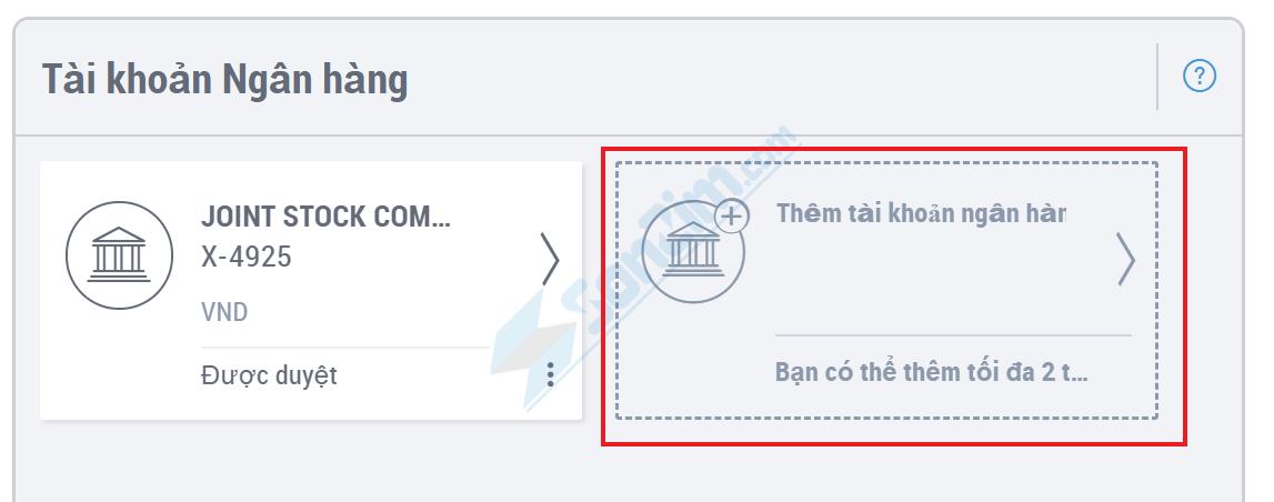 Cách rút tiền từ Payoneer về tài khoản Ngân hàng nội địa - 2