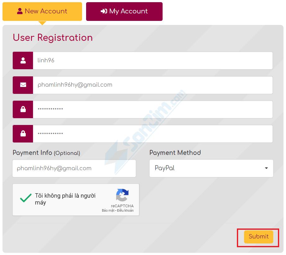 Tạo tài khoản để kiếm tiền với FilesPW - 2