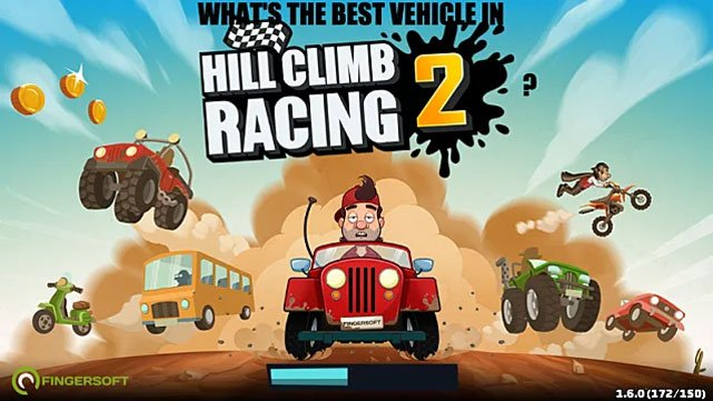 Game đua xe hay nhất trên Android - Hill Climb Racing 2