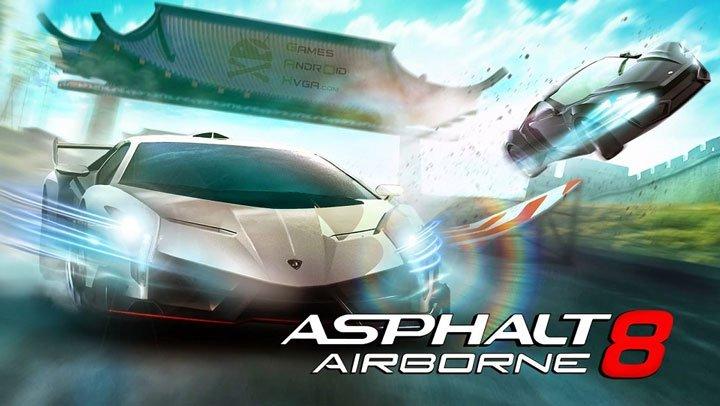 Game đua xe hay nhất trên Android - Asphalt 8: Airborne