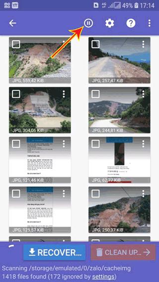 Cách khôi phục hình ảnh bị xóa trên điện thoại Android bằng DiskDingger photo recovery - 2