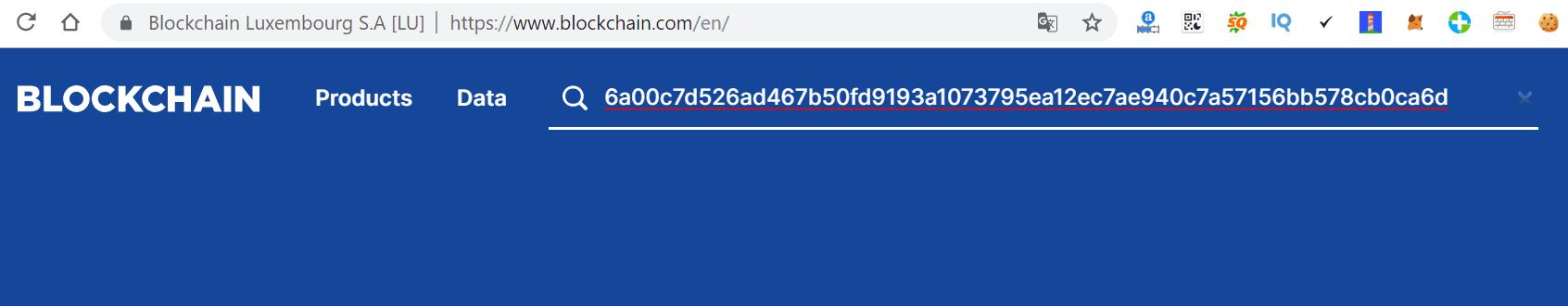 Kiểm tra giao dịch bitcoin bằng mã TXID