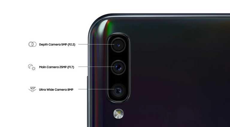 Camera Samsung Galaxy A50