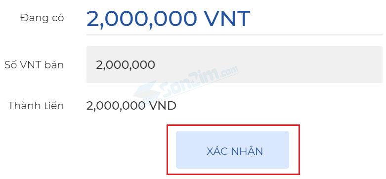 Cách bán VNT trên Fiahub - 1