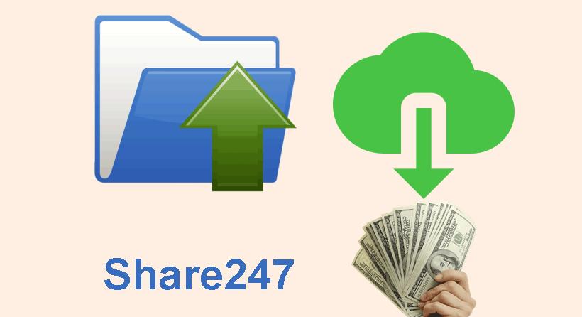 Hướng dẫn Upload file kiếm tiền với Share247