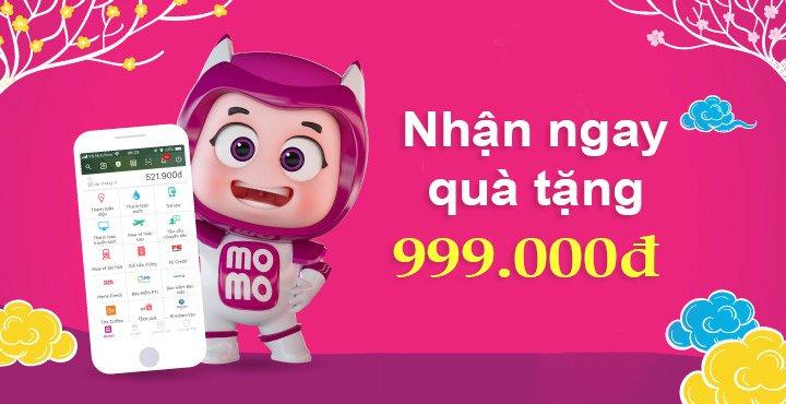 Ưu đãi MoMo tặng 999.000đ