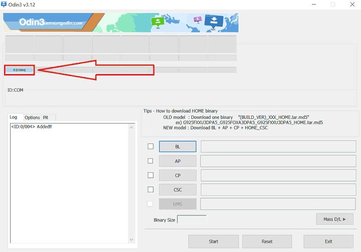 Cách Up ROM Samsung bằng Odin - 3