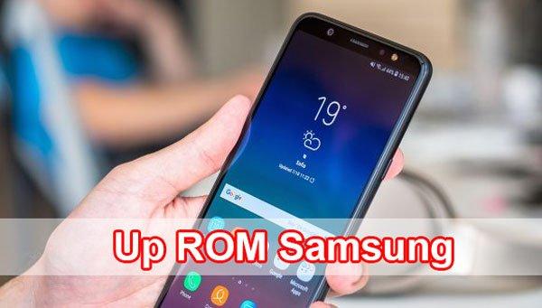 Cách Up ROM Samsung bằng Odin