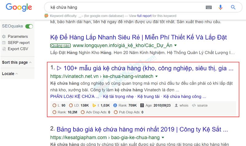 Đẩy từ khóa lên top 1 google