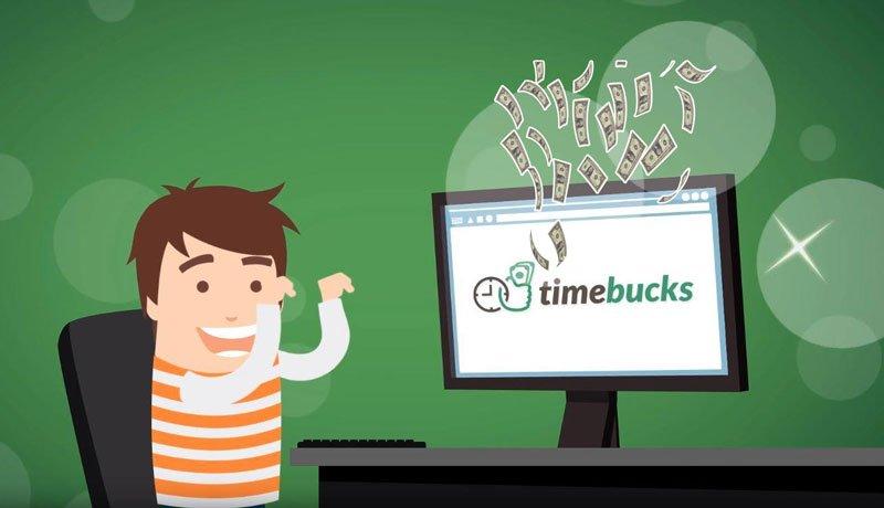 Cách kiếm tiền online trên Timebucks