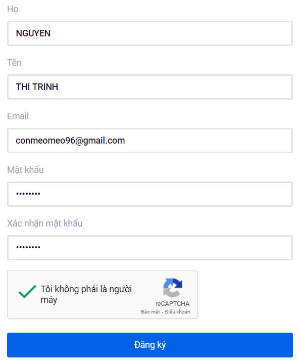 Cách đăng ký tài khoảnOla City