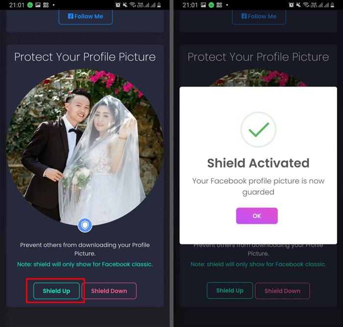 Cách bật khiên bảo vệ Avatar Facebook - 2