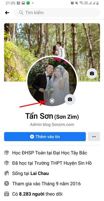Cách bật khiên Avatar Facebook thành công