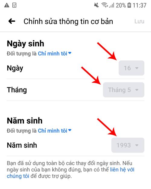 khong-the-doi-ngay-sinh-facebook