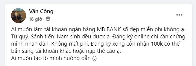 Kiếm tiền từ ứng dụng MBBank - Ảnh 3